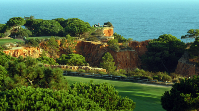 Pine Cliffs Golf Course in Portugal